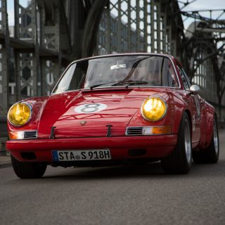 This Long Hood Porsche 911 Is Aggressively Prowling Munich's Streets