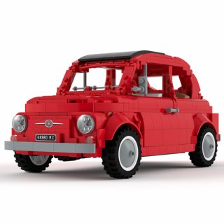 Should This Adorable LEGO Fiat 500 Be Put Into Production?