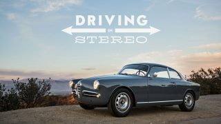 This Alfa Romeo Giulietta Sprint Is Driving In Stereo