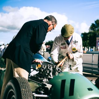 Here's To The Mechanics That Kept The Goodwood Revival Running