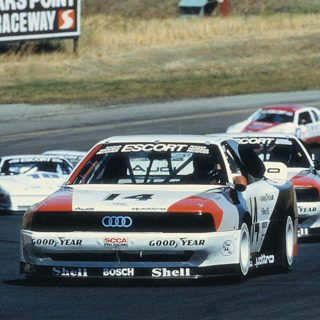 Here's How Audi Quattro Dominated American Road Racing In The Late-'80s