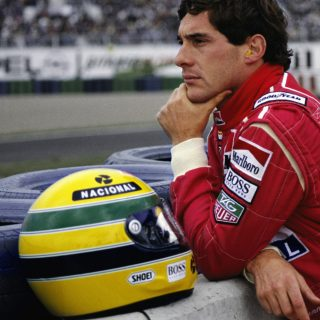 Which Classic Racing Driver Wore The Most Striking Helmet?