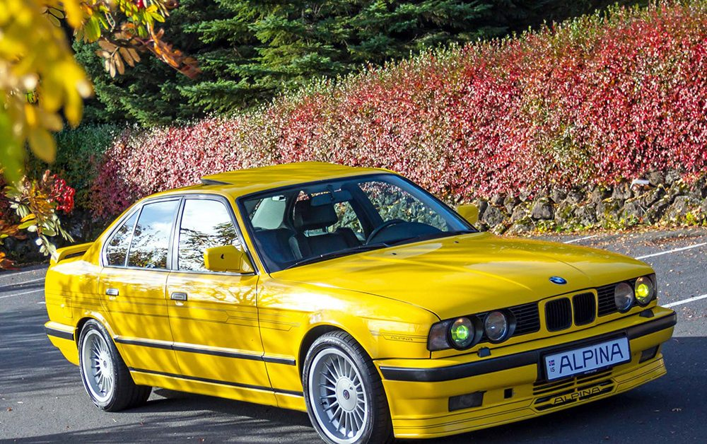 Here U2019s A 1989 Bmw 5 Series Tuned By Alpina To Nearly Top