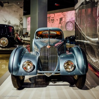 Peter Mullin Takes Us On A Tour Of The Petersen Museum's Bugatti Exhibit