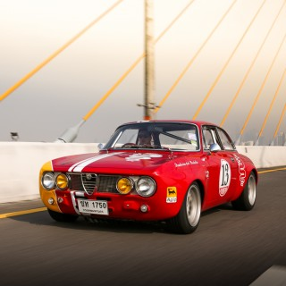 This Alfa Romeo GTAm Is Patroling The Streets Of Bangkok