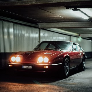 Rediscovering The Maserati Indy America In Berlin, Germany