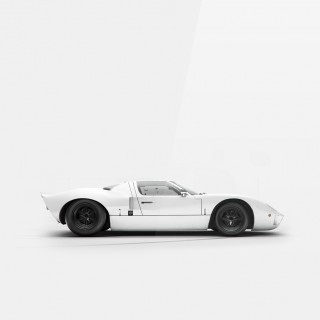 These Prints Show The Ford GT40 As A Pure And Simple Racing Legend
