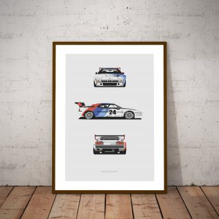 These Prints Celebrate The RSR Turbo And The M1 Procar
