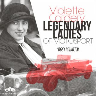Legendary Ladies Of Motorsport: Violette Cordery