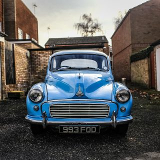 This Family Heirloom Morris Minor Has Returned From The Scrap Heap