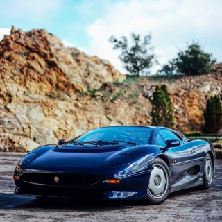 GALLERY: The Best Time To Catch A Jaguar XJ220 Is After A Spirited Drive