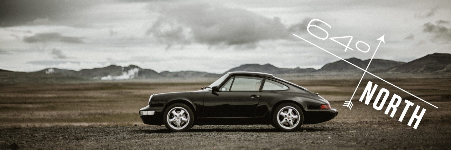 This Porsche 964 Is Piloted In Iceland At 64 Degrees North