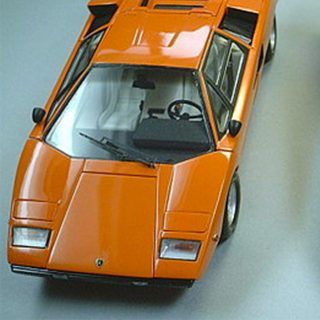 The Posterless Child: Lamborghini Countach