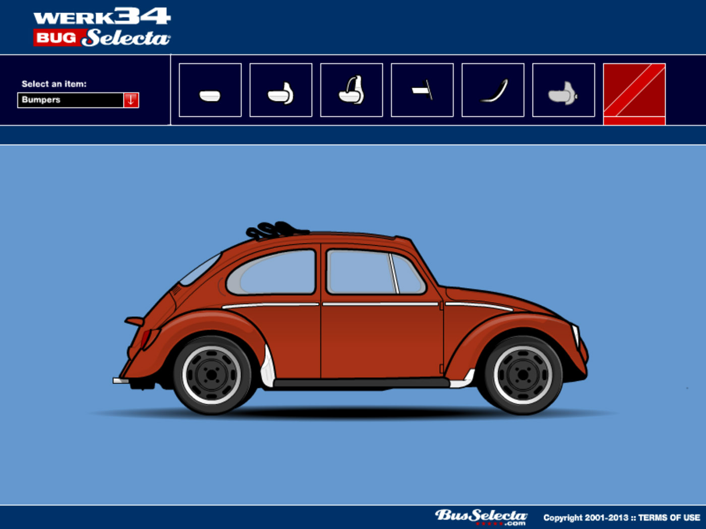 Design Your Own Beetle Bus Porsche Or Type 3 on 1973 vw beetle ideas