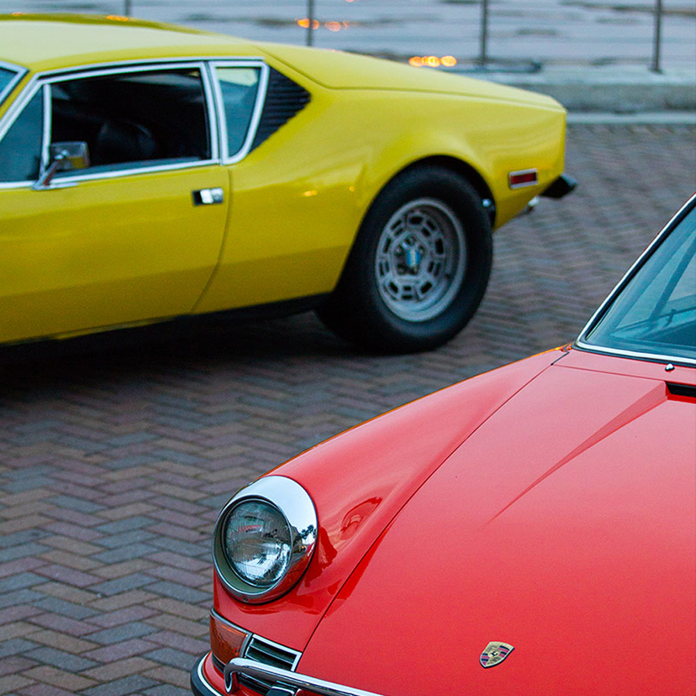 Colorful Icons, A Pantera And A 911