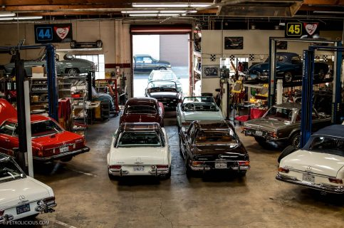 a garage is made into family heirloom petrolicious