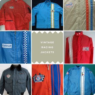 Vintage Motorsports Jackets Break the Cold