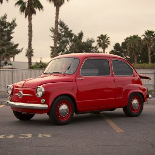 Rotary Engine Blasts Sleeper Fiat 600 Down the Road