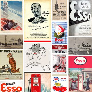 Esso Posters Bring Back a Different Era