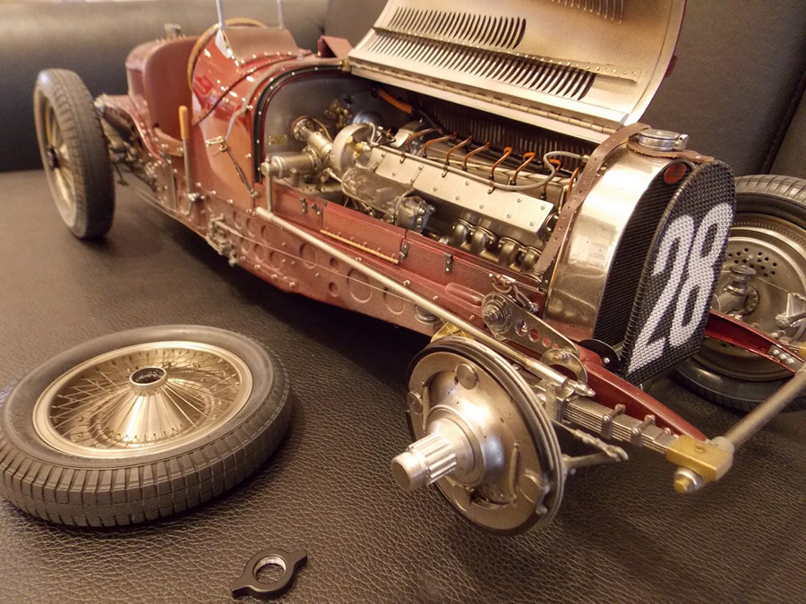 Hand Built Bugatti T59 Gives Endless Delight Petrolicious