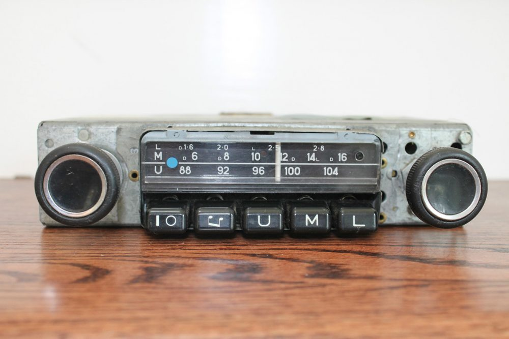 Snag A Vintage Becker or Blaupunkt If Your Radio & Dash