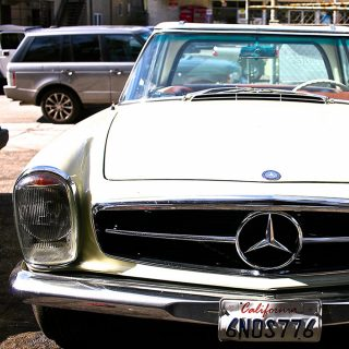 The Enduring Beauty Of A Mercedes 230 SL