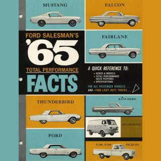 Ford Salesman's Guide Sold Style in 1965