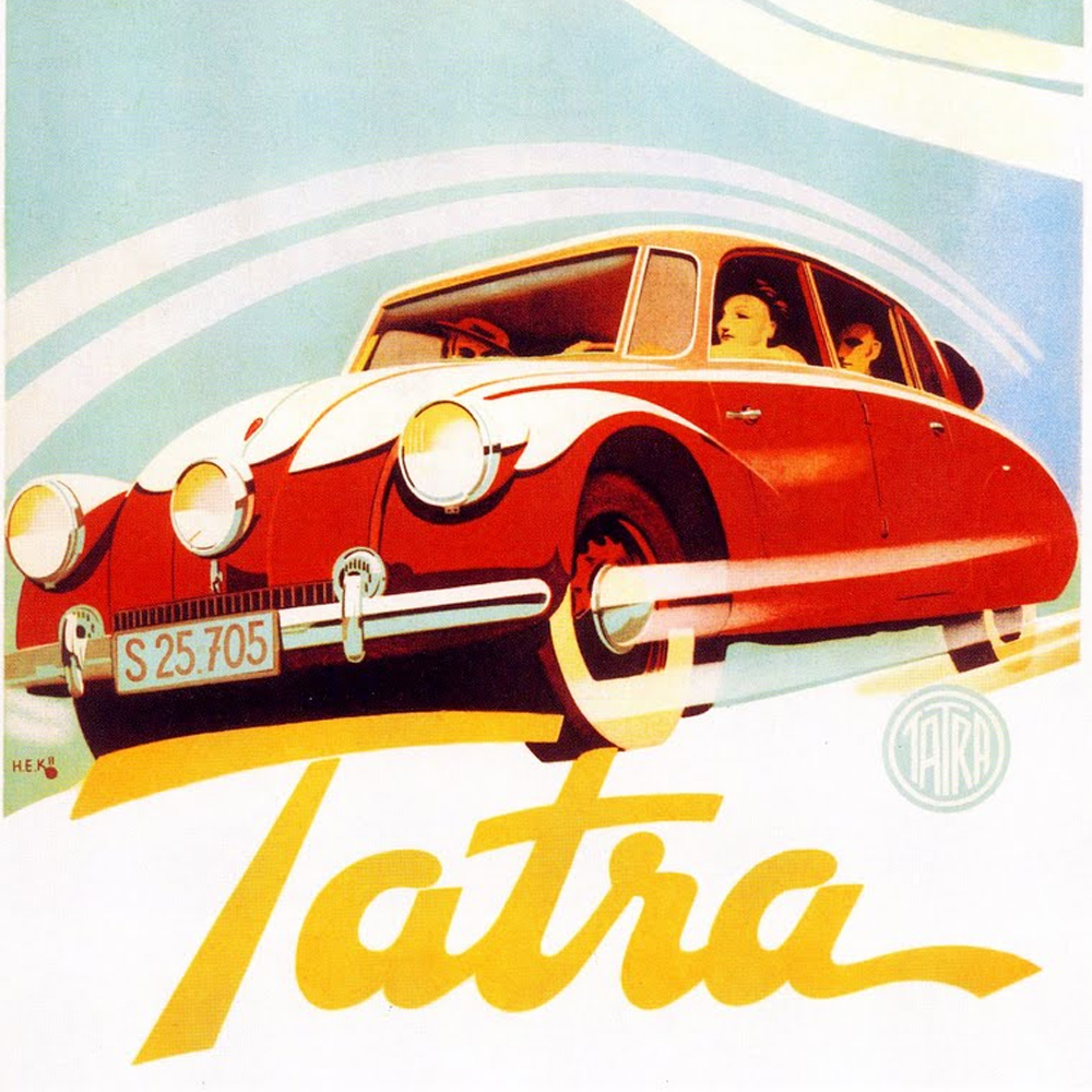 If Porsche Never Peeked at Tatra's Secrets