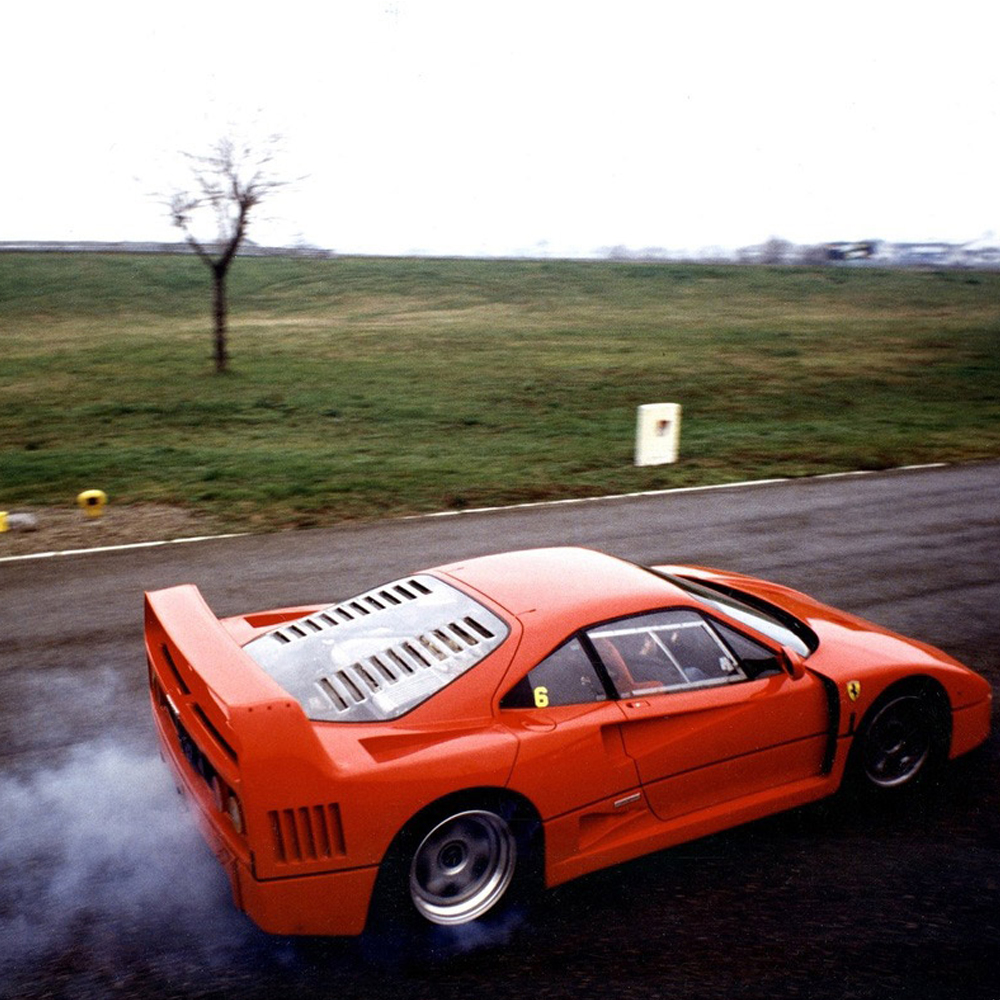 Riding Sideways in an F40 Changed My Life