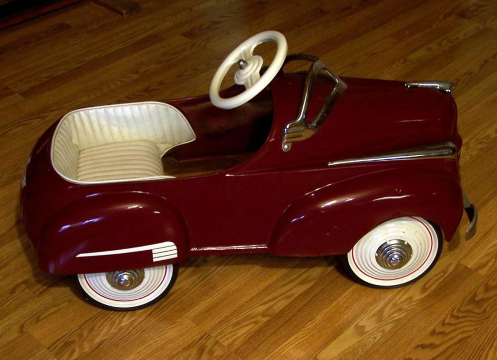 Pass Down Your Enthusiasm with an Antique Pedal Car • Petrolicious