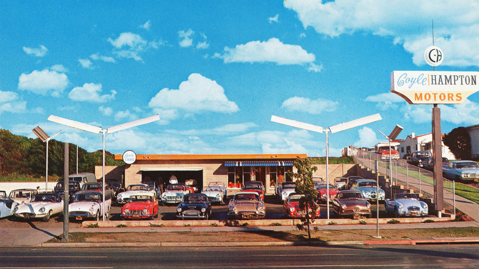 Vintage Dealership Photos Inspire Test Drive Daydreams Petrolicious - Vintage porsche dealer