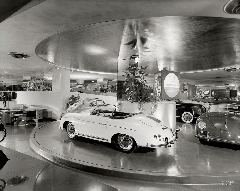 Vintage Dealership Photos Inspire Test Drive Daydreams • Petrolicious