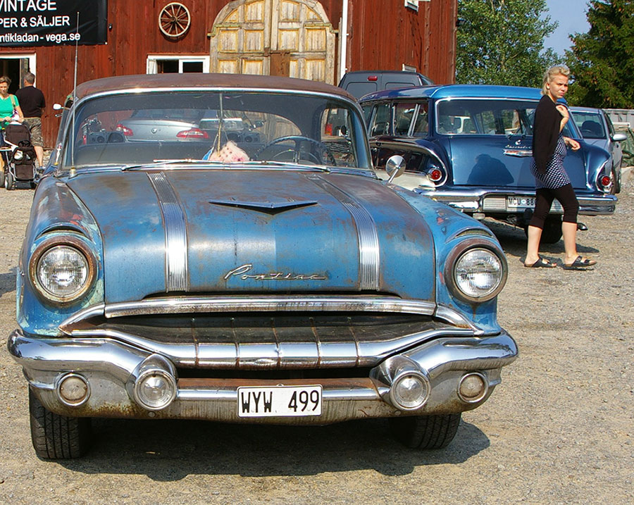 Vintage American Muscle Thrives in Modern-day Sweden • Petrolicious