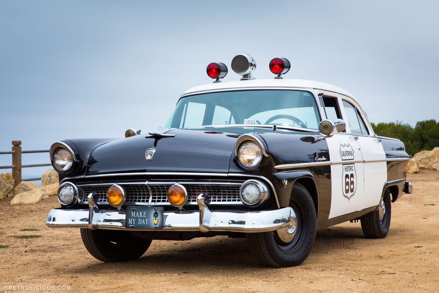 Design Your Own Home Ireland Grab A Dozen Donuts In This Original 55 Ford Police Car