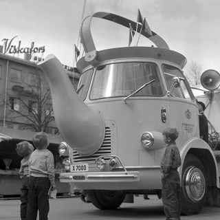 Coffee Pot Trucks Raised a Buzz for Consumers in 1950s Europe
