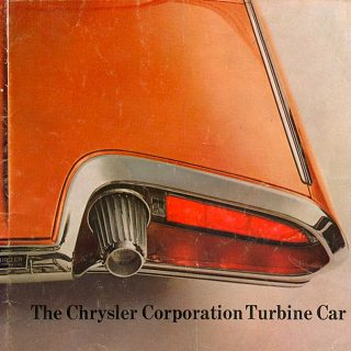 Chrysler's Jet Age Turbine Car Narrowly Missed Production