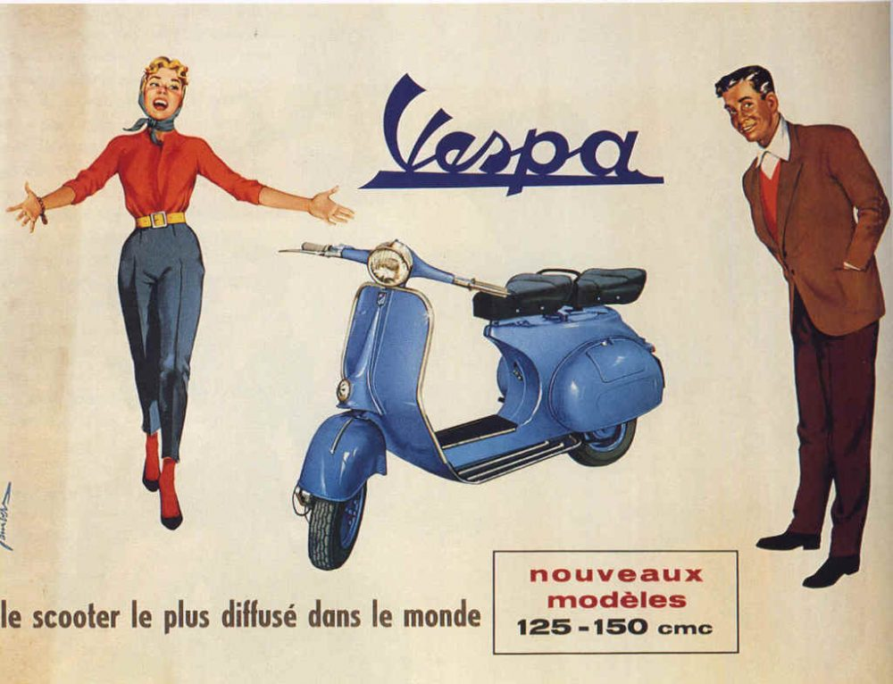 italian icon vespa was designed as the anti motorcycle petrolicious