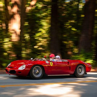 We Watched the Pebble Beach Tour D'Elegance Zip By