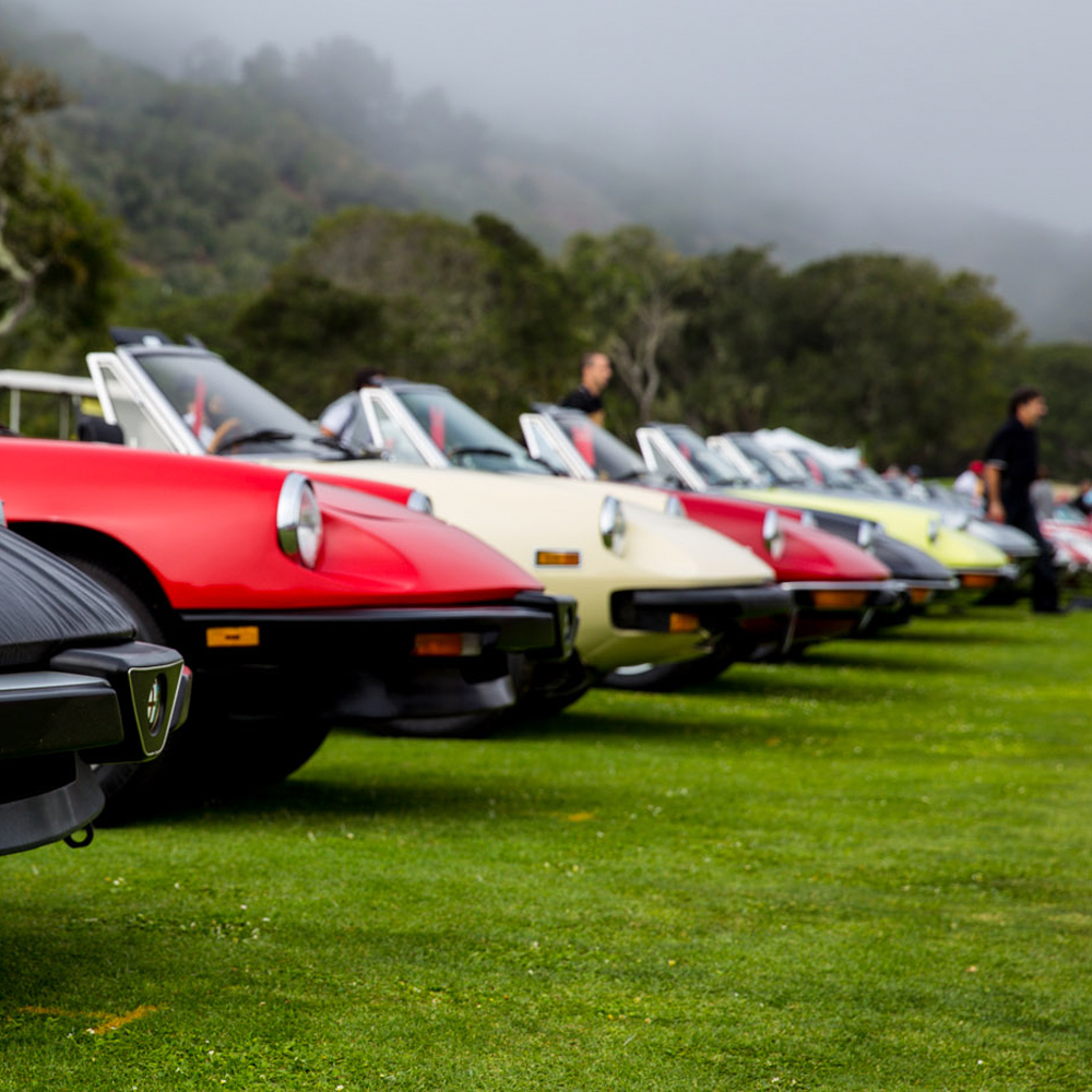 Concorso Italiano Cars Wear Their Age as a Badge of Honor