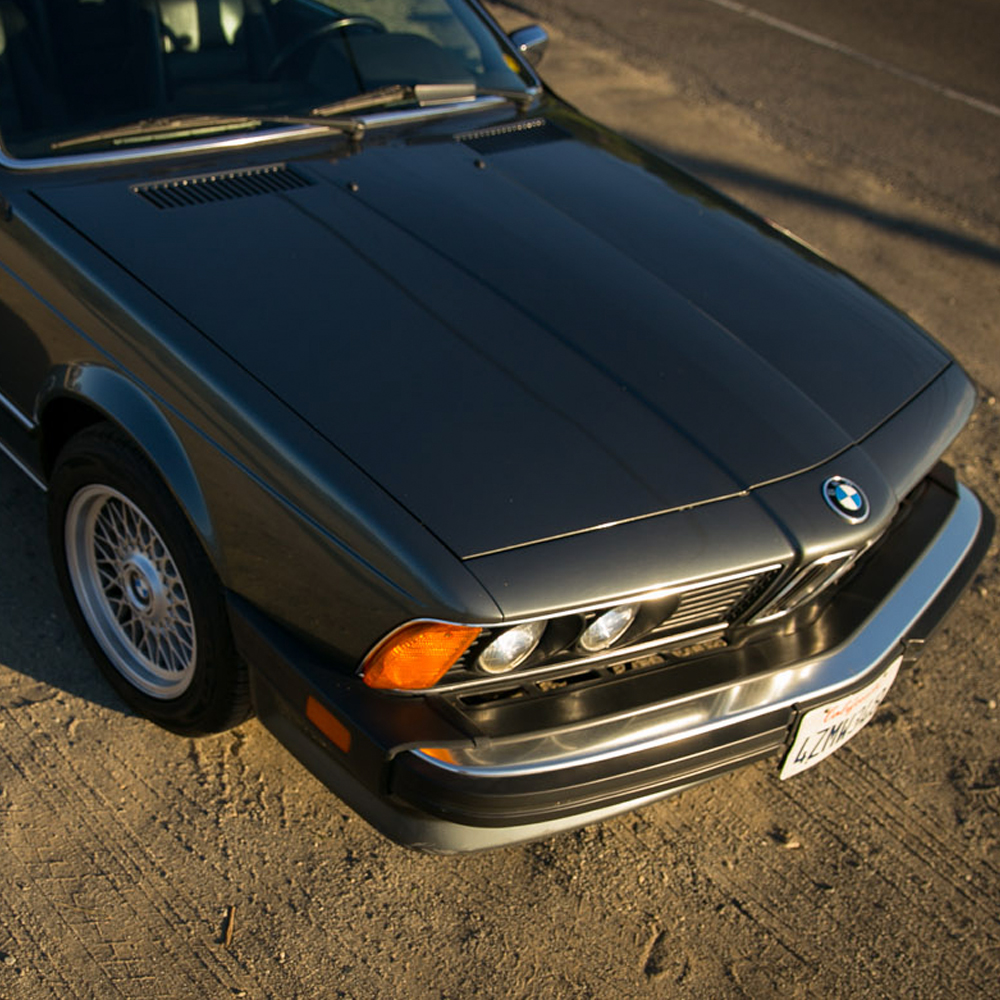 The BMW 635 CSI Is A Gentleman's Coupe