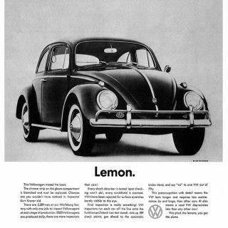 Beetle Commercials & Print Ads Changed the Nature of Advertising