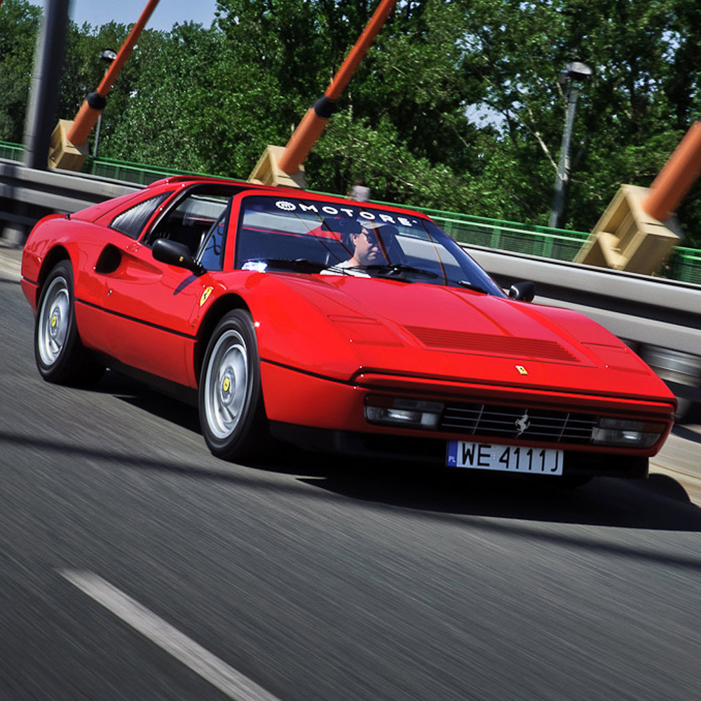 This Ferrari 328 GTS Has Been on Journeys to Write Home About