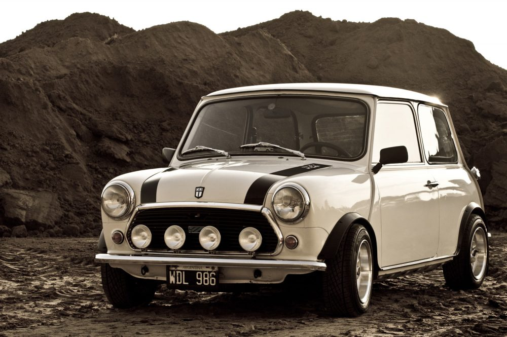 He Saved Up To Find His Dream Mini And Made It Own O Petrolicious