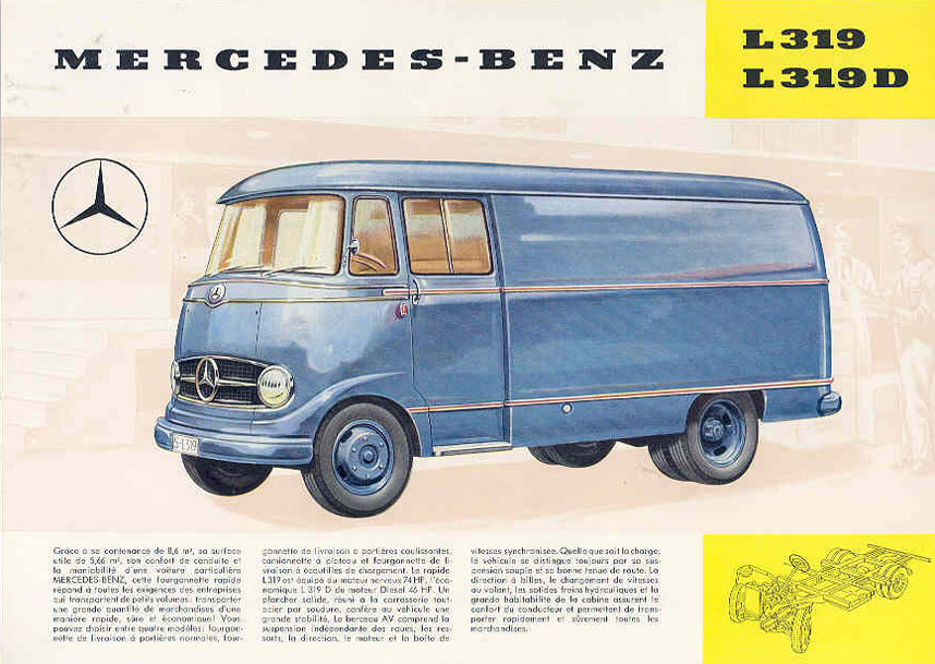 Cool Illustrations Advertised The Robust Mercedes