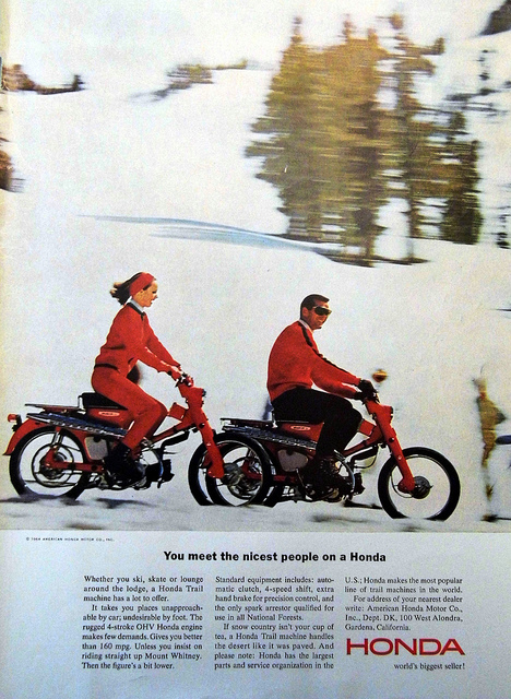 an analysis of the marketing of honda motorcycles in the united states of america Honda: an american success story:  interviews conducted by the author at honda of america  car factory in the united states even though internal studies.