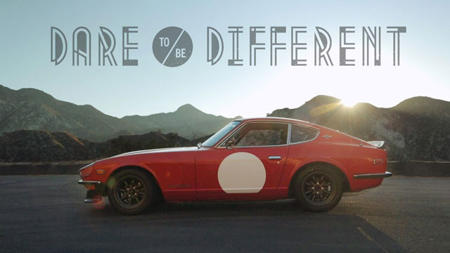 Dare to Be Different in a Datsun 240Z