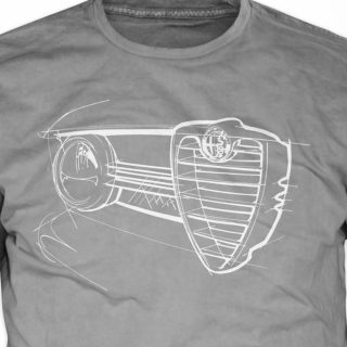 Pick Up Your Own Alfa Romeo GTV Grill T-Shirt