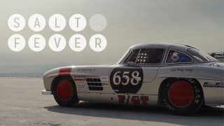 Mercedes 300SL Gullwing at Bonneville Gives Us Salt Fever