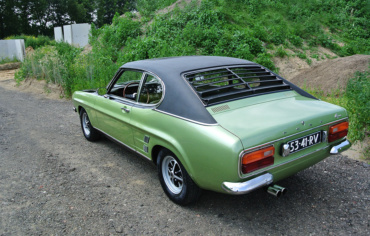 Ford capri with euro only v6 makes us long for summer - Ford taunus gxl coupe 2000 v6 1971 ...