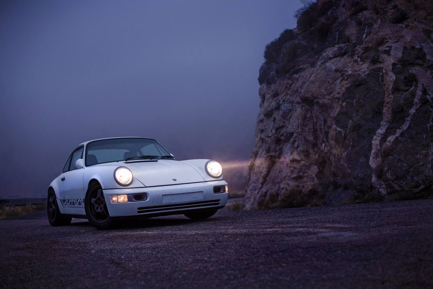 Driving This Porsche 964 Hot Rod Leaves No Room For Indifference Petrolicious